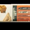 Набор из пяти различных полотен, предназначенных для пиления металла (в том числе тонкого), а также для пиления древесины в сложных условиях (в том числе древесины с гвоздями) Три полотна по металлу, одно по дереву и металлу и одно по дереву