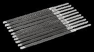 Напильник заостренный двойной сверхтонкий, промышленная упаковка, без ручки 4-188-0