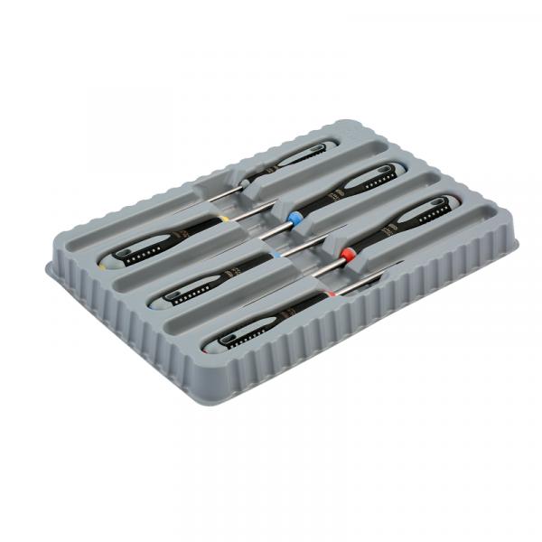 Отвертки ERGO™ с резиновой рукояткой и цветовым кодированием BE-9886