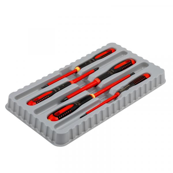 Набор изолированных отверток ERGO™, 5 штук BE-9881S