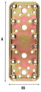 Пластина соединительная усиленная 65 мм 762