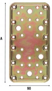 Пластина соединительная 90 мм 774